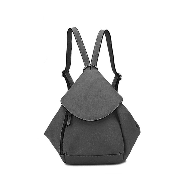 SIMPLE POCKET Leather Shoulder Backpack