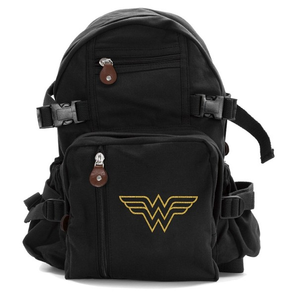 Wonder Symbol Heavyweight Canvas Backpack