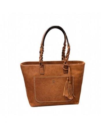 Vintage Leather Shoulder Bag Capacity