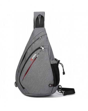 Casual Canvas Backpack Crossbody Shoulder