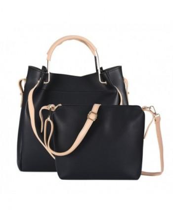 Leather Handbag Detachable Crossbody Shoulder