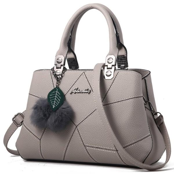 MSXUAN Fashion Leather Handbags Shoulder