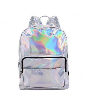 d4fd82f306 Orfila Hologram Backpack Leather Shoulder. Women s Backpacks
