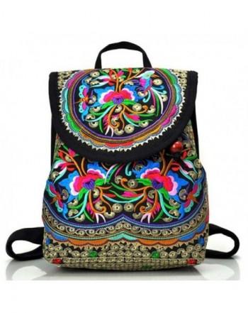 Goodhan Vintage Embroidery Backpack Shoulder