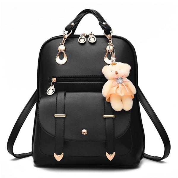 Backpacks Sunroyal Schoolbags Shoulder Mochila Black