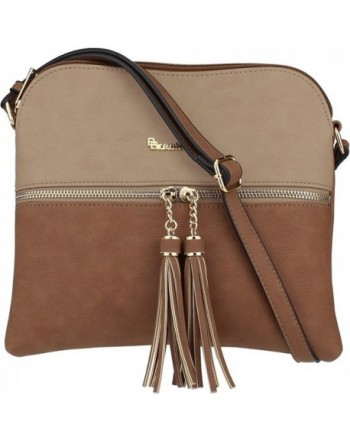 BRENTANO Medium Crossbody Messenger Accents