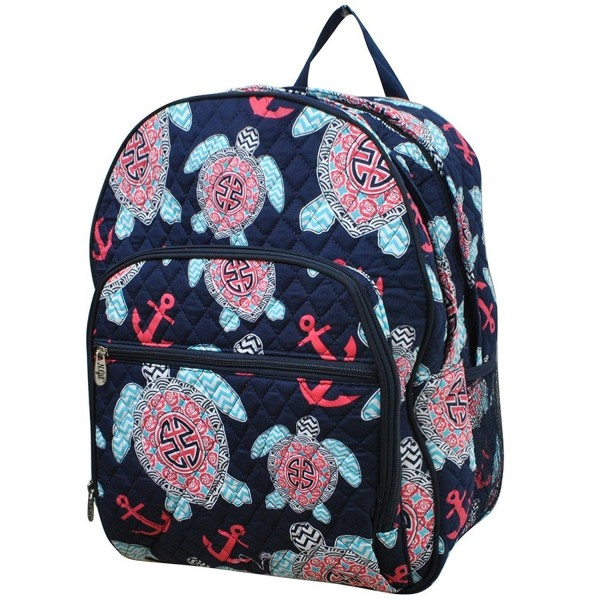 Turtle Anchor NGIL Quilted Backpack
