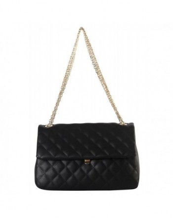 Diophy Leather Quilted Crossbody ZU 2690
