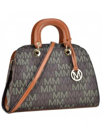 Collection Monogram Leather Multi Functional ML MU6346 BR
