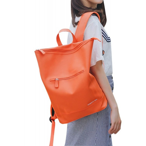 Fashion Leather Backpack Teenagers Daypack