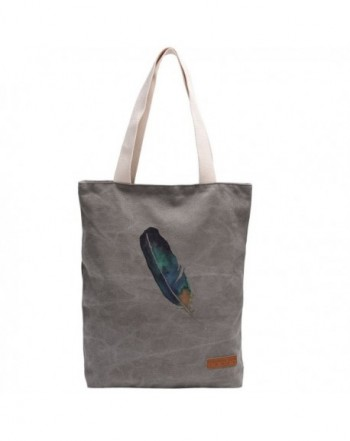 Vintga Printed Perfect Shopping Feather