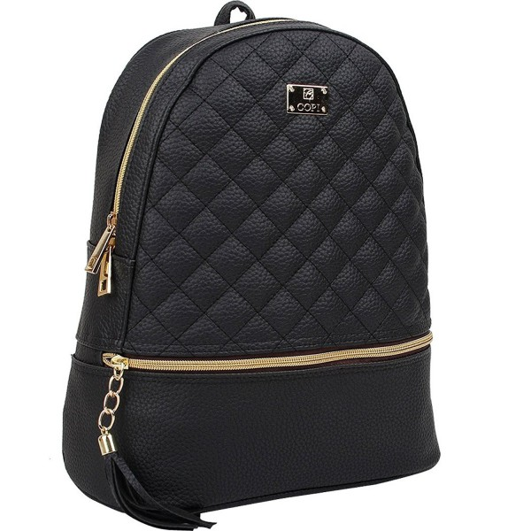 Copi Womens Fashion Quilted Backpacks