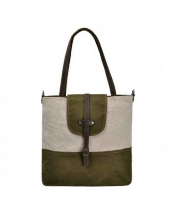 ZLYC Shoulder Vintage Handbag Leather