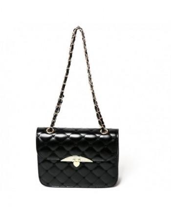 Quilted Leather Handbag Vintage Shoulder