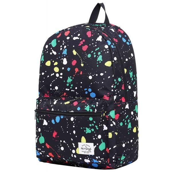 TRENDYMAX Backpack School 15 4 inch ColorfulPaints