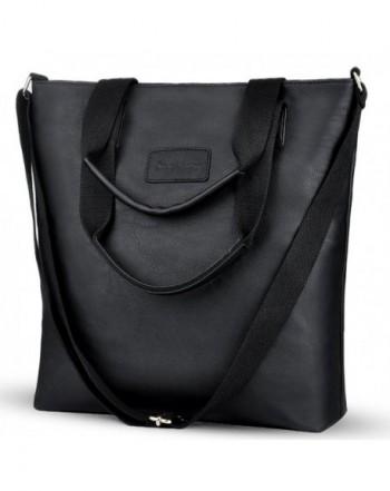 Crossbody Multifunction Shoulder Handbags 8015 black