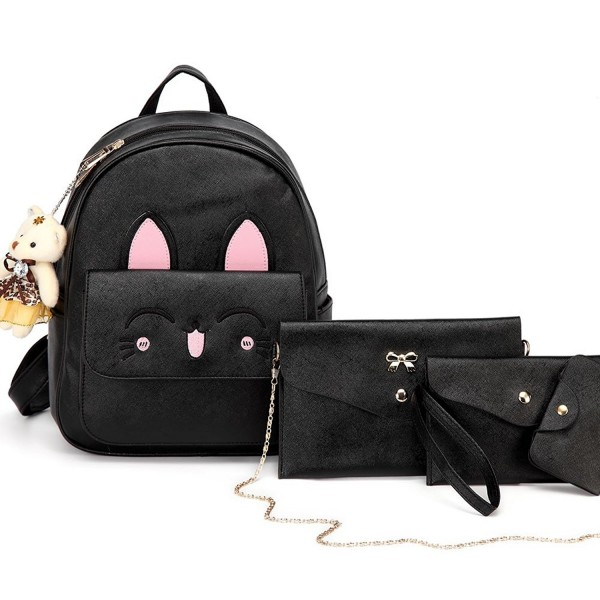 DIOMO Backpack Leather Multi Way Cartoon