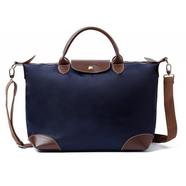 866a222d39 ... Bag Nylon Travel Beach Crossbody Bags for Women - Navy Blue -  C9186XTMN4Q. BEKILOLE Womens Stylish Waterproof Crossbody