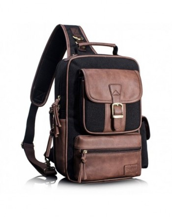 Leaper Outdoor Crossbody Shoulder Backpack