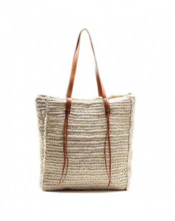 Straw Summer Shoulder Handmade Handbag