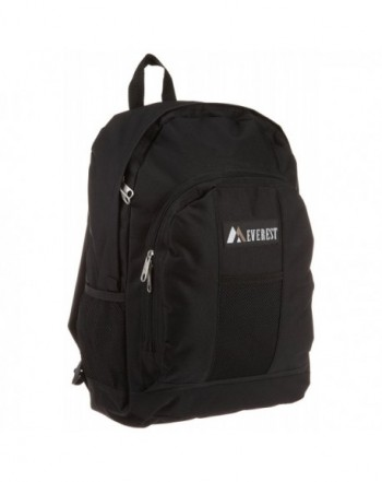 Everest Luggage Backpack Front Pockets