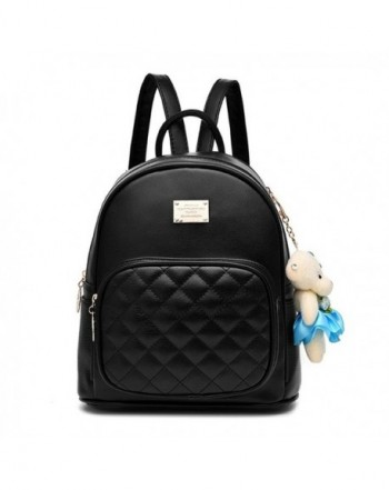 Fashion Leather Laides Shopping Backpack