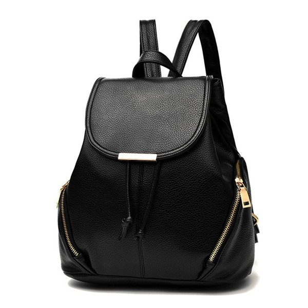 Juilletru Leather Backpacks Bookbags School