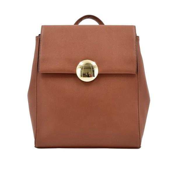 Fashion Backpack Leather Multipurpose Knapsack