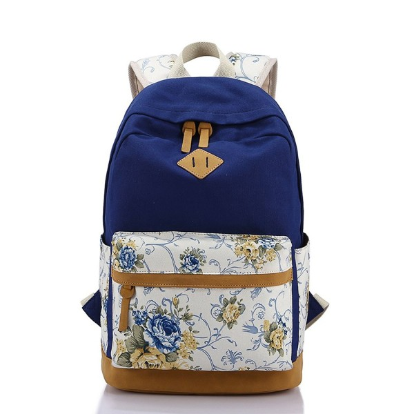 Backpack Vintage Lightweight Bookbags YFang
