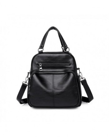 Vintage Multifunction Handbags Shoulder Backpack
