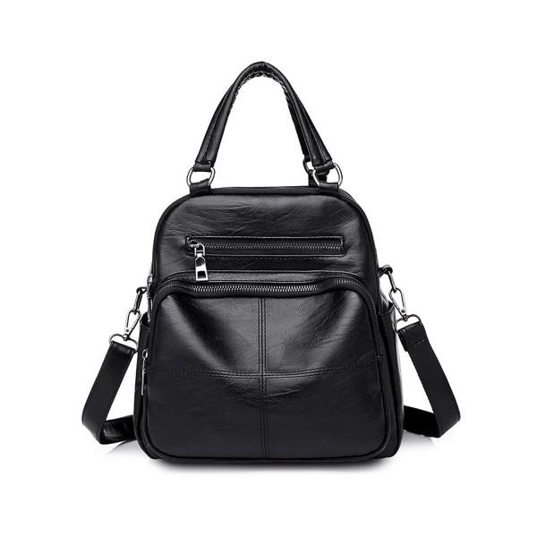 Vintage Multifunction Handbags Shoulder Backpack