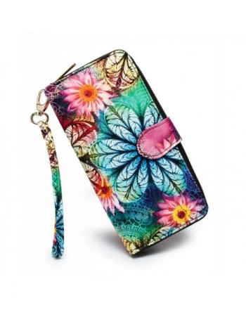 LOVESHE Womens Flower Polyester Fashion