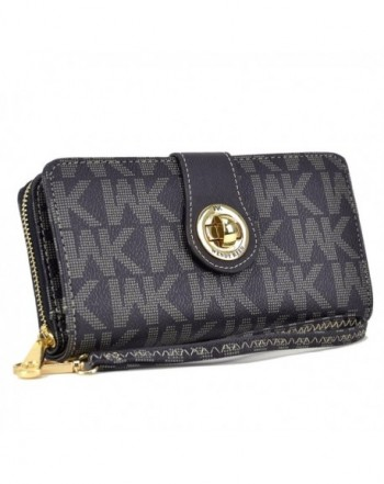 Collection Double Around Wallet MA WK 912 BK