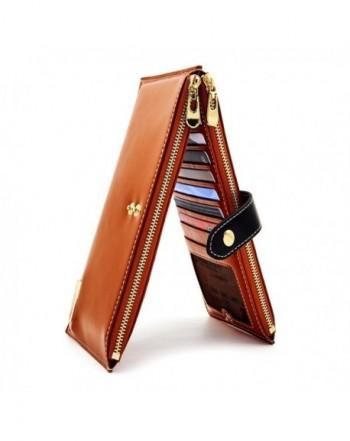 ANDOILT Genuine Leather Blocking Handbag