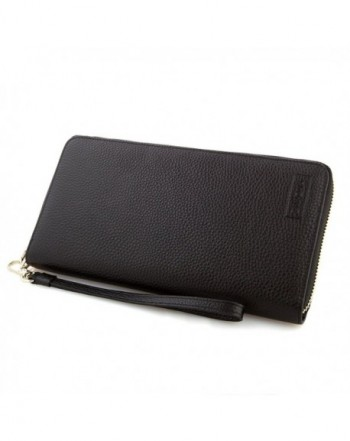 1419c2d29608 Large Zip Around Wallet for Women Genuine Leather Travel Wallet -  C6187SMSHWY
