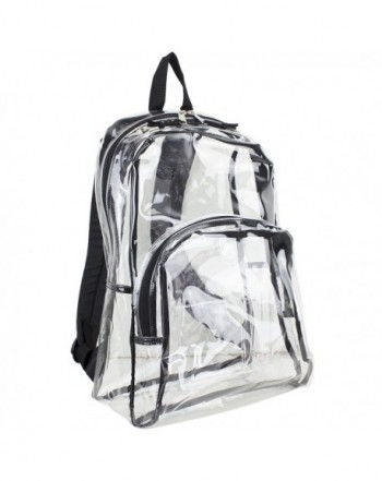 Eastsport Clear Backpack Black