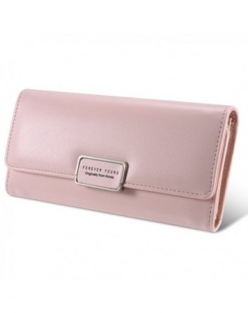 Wallet SUN Multi card Trifold Zipper Clutch