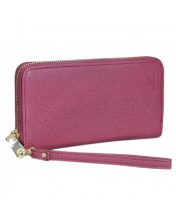 Womens Leather Wallet Clutch Wallets