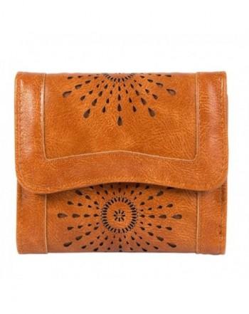 Womens Clothink Leather Stylish Trifold