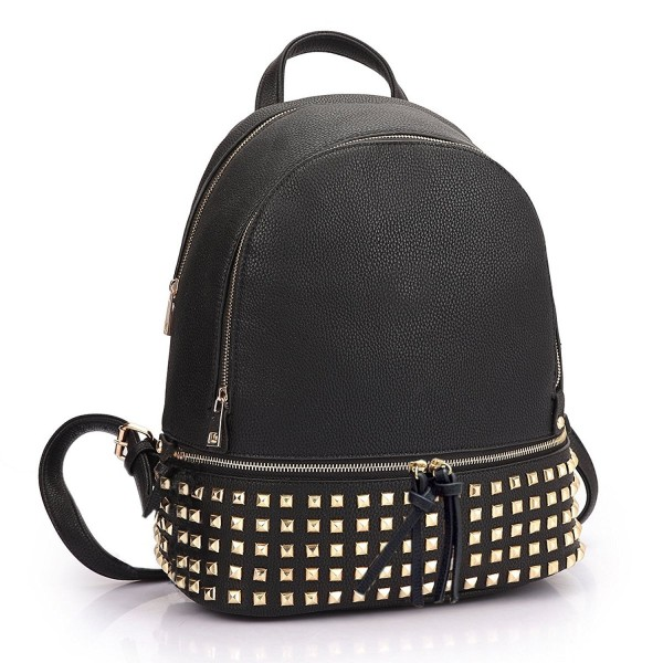 Dasein Womens Leather Backpack Dayback