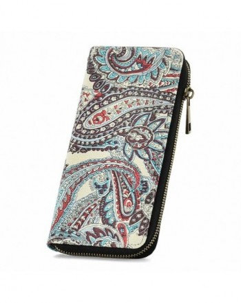 RUNWINDY Womens Canvas Wristlet Handbag