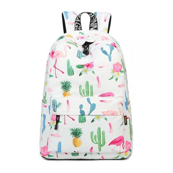 Joymoze Waterproof Backpack Lightweight Flamingo