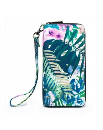 LOVEME Wallets Hangbag Package GREEN FLOWER28