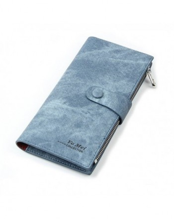 Womens Leather Durable Wallets Multi Card