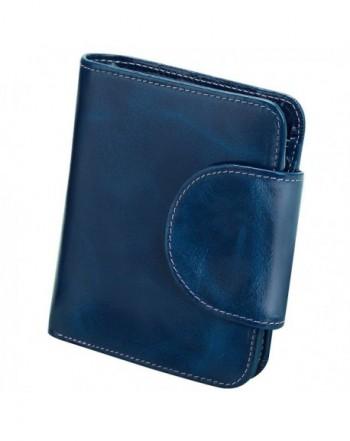 S ZONE Genuine Leather Tri Fold Organizer