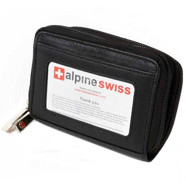 Alpine Swiss Accordion Organizer Leather