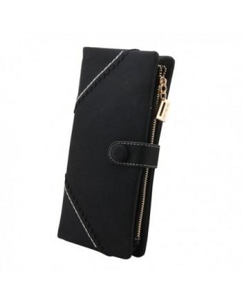 FUNOC Fashion Leather Wallet Handbag