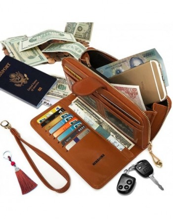 NEWANIMA Wallet Multi card Zipper Keychain