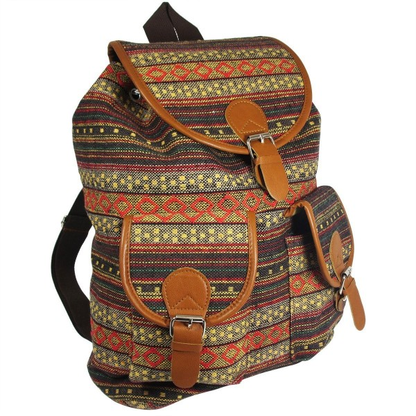 Oaxaca Bohemian Backpack Vintage Daypack