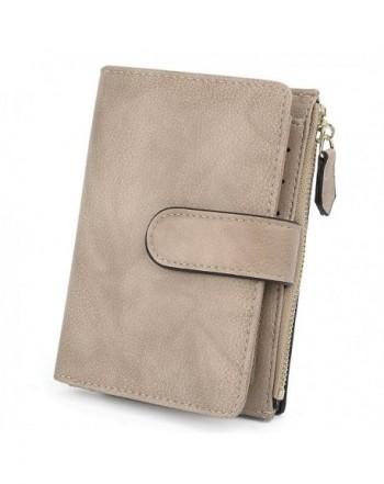 UTO Leather Wallet Organizer Closure